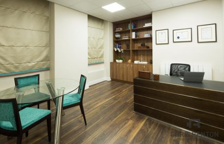 Consultation room at LIGC